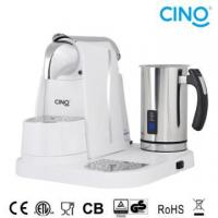 Buy cheap L/M Capsule Coffee Machine With Milk Frother from wholesalers