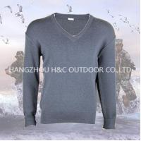 Buy cheap Military sweater Comfortable Navy blue military sweater f from wholesalers