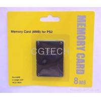 Buy cheap Memory card for PS2 (8M,16M,32M and 64M), PS2 memory card from wholesalers