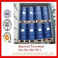 Buy cheap Glycerol triacetate Food Grade 102-76-1 Triacetin from wholesalers