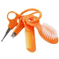 Buy cheap Baby Care Set with Comb/Brush/Nail Clipper/Safety Scissor A-1079 from wholesalers