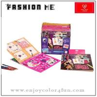 Buy cheap coloring book fashion design sketch book from wholesalers