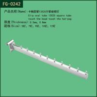 Buy cheap Metal 13*25 Square Tube Nails Clothes Display Hook FG-0242 from wholesalers