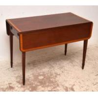 Buy cheap Antique Georgian Inlaid Mahogany Pembroke Table from wholesalers