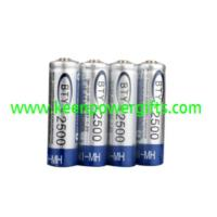 Buy cheap Battery & Charger 4 x AA 2500mAh Ni-MH BTY 2500 Rechargeable Batteries (BTY(2500)) from wholesalers