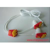 Buy cheap Branded promotional earphones with molded logo from wholesalers