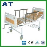 Three folding wooden patient bed