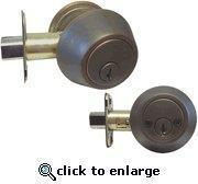 Buy cheap Oil Rubbed Bronze Double Cylinder Deadbolt 102SS-ABR from wholesalers