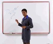 Buy cheap Dry Erase Boards Aluminum Frame Dry Erase Boards Trimmed Colors from wholesalers