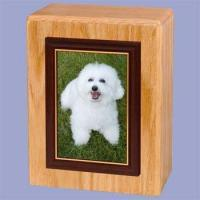 Buy cheap Pet - Photo Pet Cremation Urn Vertical from wholesalers