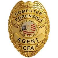 Buy cheap Certificates & Awards Computer Forensics Agent Badge from wholesalers