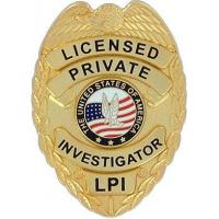Buy cheap Odd & Interesting Items Licensed Private Investigator Badge - Gold from wholesalers