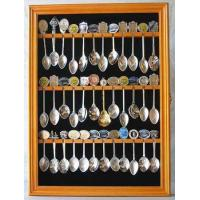36 Souvenir Spoon Holder Rack with glass door