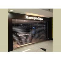 Buy cheap Polycarbonate roller shutter door from wholesalers