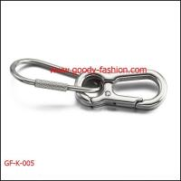 Buy cheap Newest designs stainless steel lobster clasp keychain from wholesalers