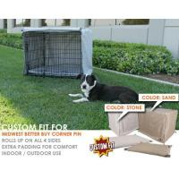 Buy cheap Dog Crate Cover and Pad Set for MidWest Better Buy Corner Pin Crate from wholesalers