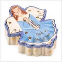 Buy cheap Bed & Bath Angel Trinket Box from wholesalers