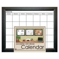 Buy cheap Decor Magnetic Dry Erase Calendar - Black 18x22 from wholesalers