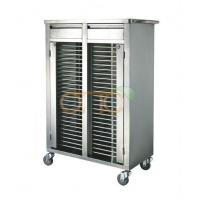 Buy cheap Medical Trolley Stainless Steel Medical Record Trolley from wholesalers