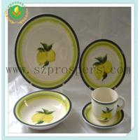 Buy cheap Ceramic dinnerware 20pcs handpainted set from wholesalers
