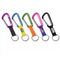 Buy cheap fashion aluminium carabiner with compass from wholesalers