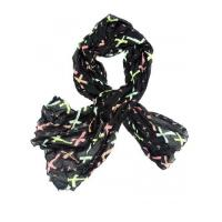 Buy cheap - Scarf Color Cross Pattern Scarf product