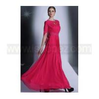 Buy cheap Formal evening dress & A line spaghetti straps chiffon cappa mother of the bride dress from wholesalers