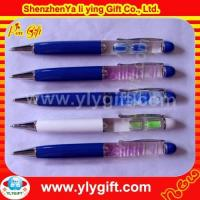 Buy cheap Blue plastic flaoter pen PE-00075-23 product