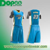 Buy cheap Slam Style Sublimation Basketball Uniform grande DPBKJ027 from wholesalers