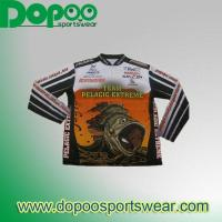 Buy cheap dye sublimation fishing jersey DPFJ009 from wholesalers