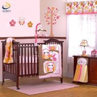 Buy cheap China factory good quality owl embroidery and applique baby crib bedding set from wholesalers