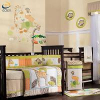 Buy cheap China wholesale good quality giraffe embroidery applique crib baby bedding set from wholesalers