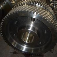 Buy cheap Mechanical Gears Double Helical Gear OEM Model from wholesalers
