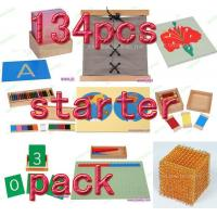 Buy cheap Montessori material Mathematics -134pcs starter pack from wholesalers