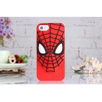Buy cheap cases For iphone 2015 best selling silicon spider man phone cover for iphone4/4s,5/5s/6/6plus from wholesalers