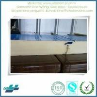 Buy cheap steel sandwich panel roof & wall good quality insulated PU wall panel for prefab building from wholesalers