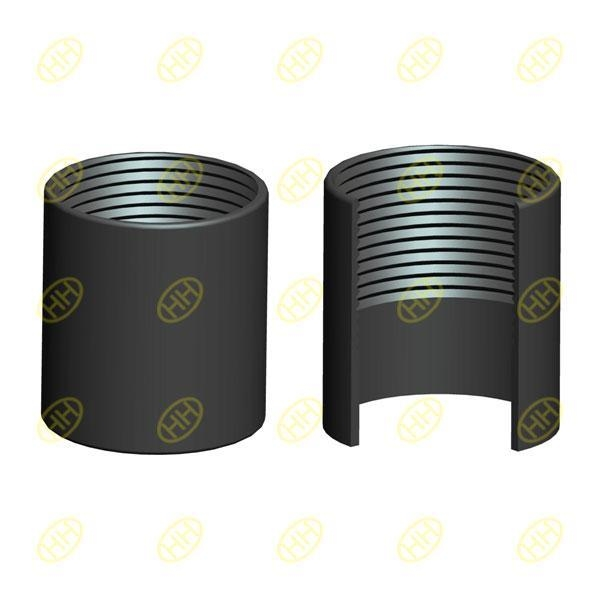 Half thread pipe coupling socket of thepipefitting