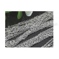 Buy cheap Gemstone Beads Brass Chain, Platinum Plated from wholesalers