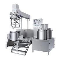 Buy cheap Cosmetic Cream homogeneous mixer Lotion Making Machine Vacuum emulsifier from wholesalers