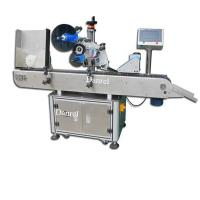 Buy cheap Horizontal Rolling Round Objects elliptical bottle Automatic Labeling Machine for Pens Syringe product