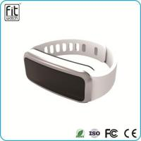 Buy cheap 0.91 inch OLED screen bluetooth 4.0 wearable technology smart rubber bracelets from wholesalers