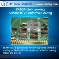 Buy cheap Silicone solutions SS-6004 Self-Leveling Silicone RTV Conformal Coating from wholesalers