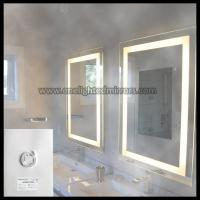 Buy cheap Illuminated Bathroom Mirror With Electrical Demister from wholesalers