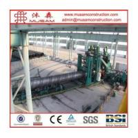 Buy cheap Large Diameter SSAW Spiral Steel Pipe on Sale product