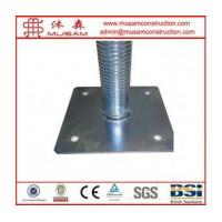Buy cheap Electric Galvanized Scaffolding Adjustable Screw Solid... product