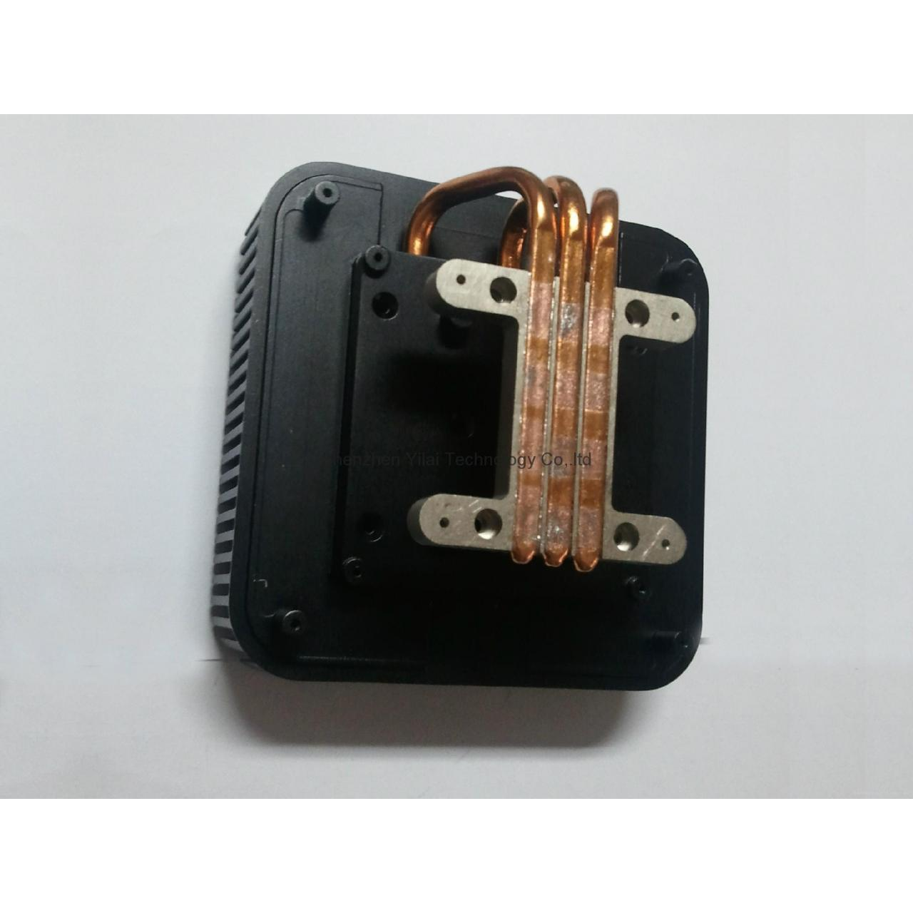 Buy cheap Aluminum heatsink with heatpipes together to make the heat products cooling from wholesalers