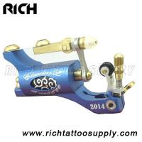 Buy cheap light weight Wholesale Tattoo Supply Premium Purple PVD Aluminum Bishop Rotary T from wholesalers
