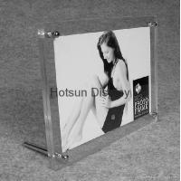 Buy cheap Acrylicscrew tabletop photo frame 4R 6R from wholesalers
