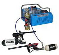 China 3.0kw 4hp electric powered scuba air compressor , 20 minutes for 6L tank on sale