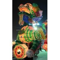 Buy cheap Chinese Canton folk art five colour lion-lantern dancing from wholesalers